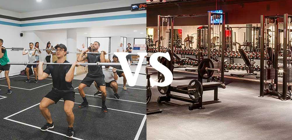 CrossFit Box vs. Globo Gym